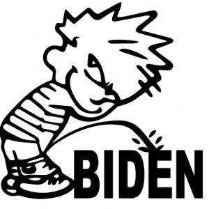 Piss on BIDEN